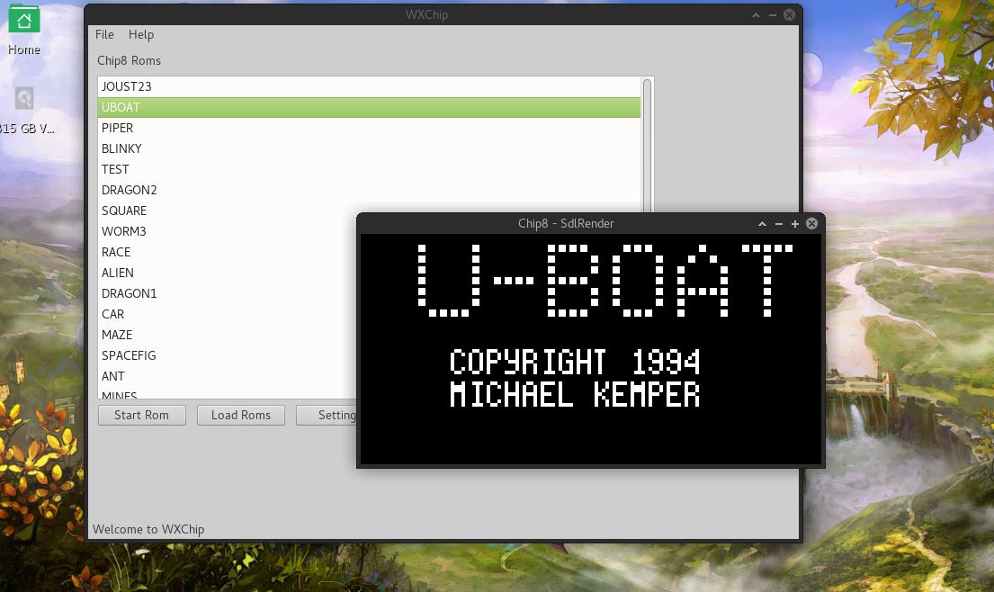 XChip a chip8 api and emulator